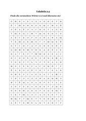 Kreuzworträtsel - 1