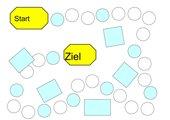Anlaut-Spiel im Erstleseunterricht (Blankomaterial)