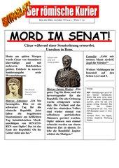 Warum wurde Cäsar ermordet?