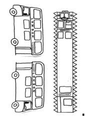 Bastelanleitung für einen Londoner Doppeldeckerbus