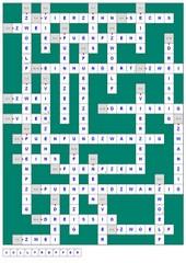 3 Kreuzworträtsel Förderschule/Grundschule 1x1 (+Lösung)