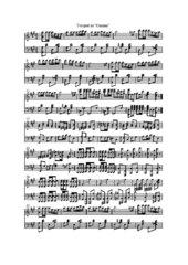 Bizet Carmen Vorspiel Noten Klavierauszug