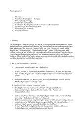 Wochenplanarbeit  (Referat)