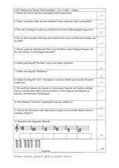 Weber - Der Freischütz - Test 8. Klasse Gym
