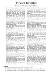 Fortsetzungsgeschichte: Römische Götterwelt