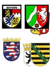 Wappen der Bundesländer Deutschlands