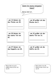 Zahlenrätsel