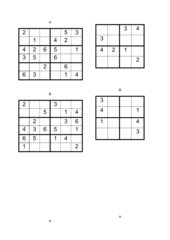 Sudoku 2 für Kinder