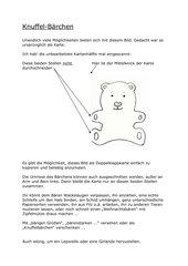 Knuffel-Bärchen