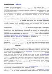 Lückentext mit Lösung Lebenslauf Mussorgski