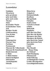 Lernwörter zur Frankfurt-Rallye