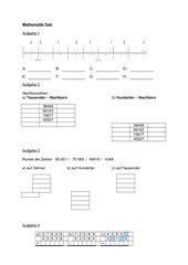 Mathe-Test (5. Klasse RS/BW)