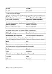 Quiz Allgemeinbildung
