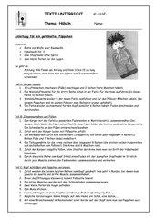 Anleitung für ein gehäkeltes Püppchen