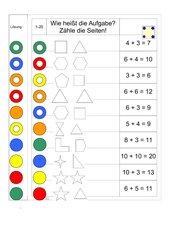 Logico Piccolo, Plusaufgaben bei geometrischen Figuren erkennen,ZR 1-20