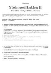 Steinmeditation II.