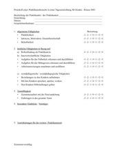 Protokoll Praktikumsbesuch TEK