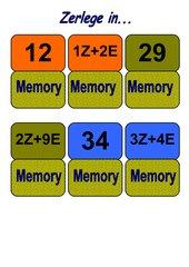 Ein Mathematikspiel, das zur Festigung des Wissens beitragen soll