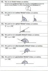 Quiz zu geometrischen Grundbegriffen
