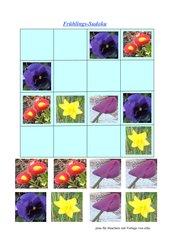 Frühlings-Sudoku