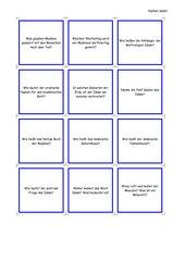 Frage- und Antwortkarten ISLAM