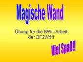 Magische Wand zum Thema KV Recht