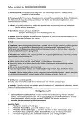 Bewerbungsanschreiben und tabellarischer Lebenslauf