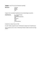 Datenbank Aufgabe zu ERM und Tabellen
