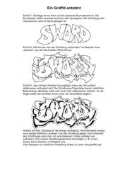 Ein Graffiti entsteht I