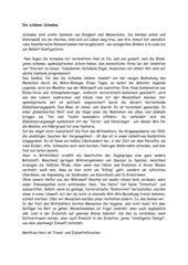 Die schönen Schwäne - Vogelgrippe - Text - Rätsel