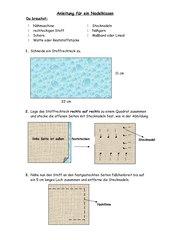 Anleitung für ein Nadelkissen