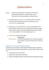 (S)elektiver Mutismus