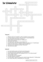 Der Schimmelreiter, Kreuzworträtsel