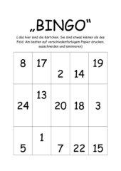 Bingo-Staffel