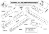 Übungsblatt Flächen- und Volumenberechnung Zylinder, Kegel, Dreieck