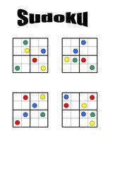 Sudoku 4x4 mit Farben