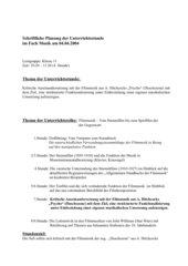 Analyse der Duschszene (A. Hitchcock - PSYCHO)