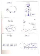 Bild-Wort-KArten zum Gleichnis