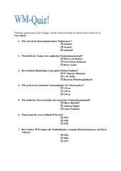 WM-Quiz