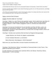 Schreibanlässe Brief (5./6.Klasse)