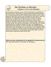 Der Dombau zu Münster 1 +  2