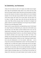 Verschiedene Materialien zum Zauberlehrling von Goethe