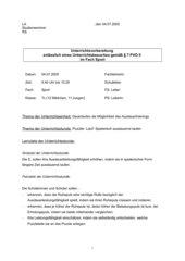 UB Ausdauer-Puzzle
