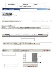 Einstieg in WORD 2003 mit Programmfenster, Bildschirmansicht, ...