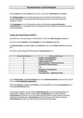 Kontenrahmen / Kontenplan am Bsp. vom SKR 03