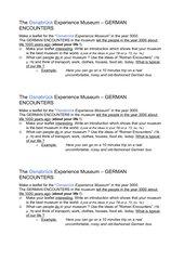 EG 2000, A3 Unit6: German Encounters