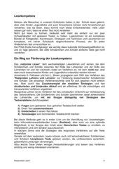 Lesekompetenz fördern - Reziprokes Lesen