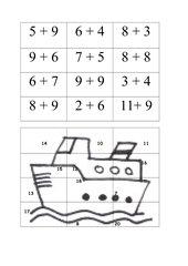 Arbeitsblätter Rechnen bis 20  mathestundecom