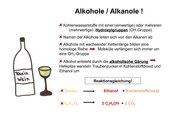 Alkohole / Alkanole