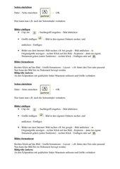 Word: Seiten einrichten, Bilder einfügen und formatieren
